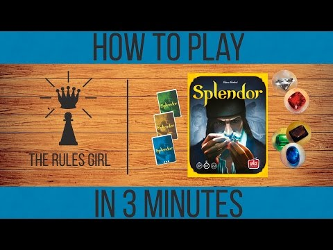 How to Play Splendor in 3 Minutes - The Rules Girl