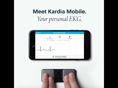 Kardia Mobile Personal EKG from AliveCor