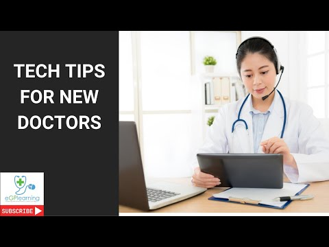 Tech tips for new docs