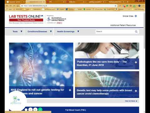 Labtest Online - The best website to help you understand pathology investigations as a doctor-