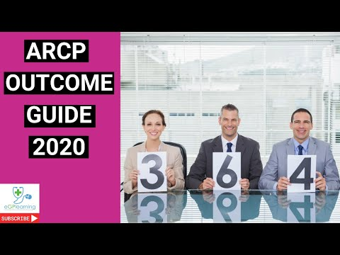 ARCP outcome guide 2020- how to pass GP training