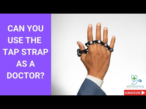 Can you use the Tap Strap as a doctor
