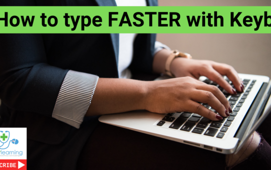 How to type FASTER using Keybr