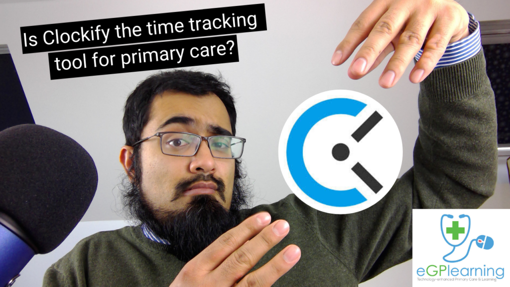 Is Clockify the time tracking tool for primary care_