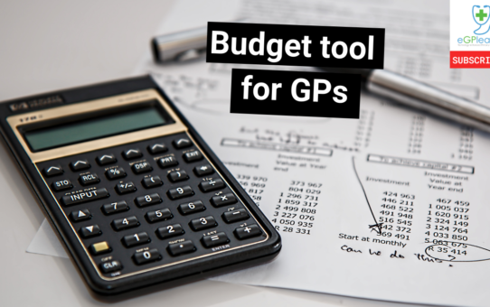 Budget tool for GPs