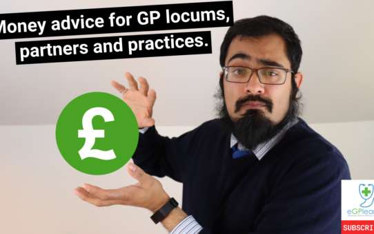 Money advice for GPs