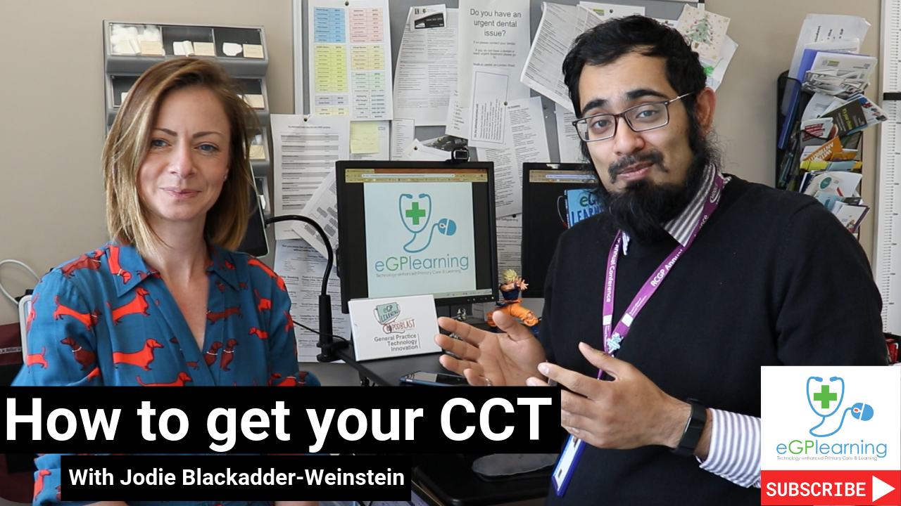 How to get your CCT - as a GP with Jodie Blackadder-Weinstein