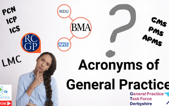 Learn about all the acronyms of General practice