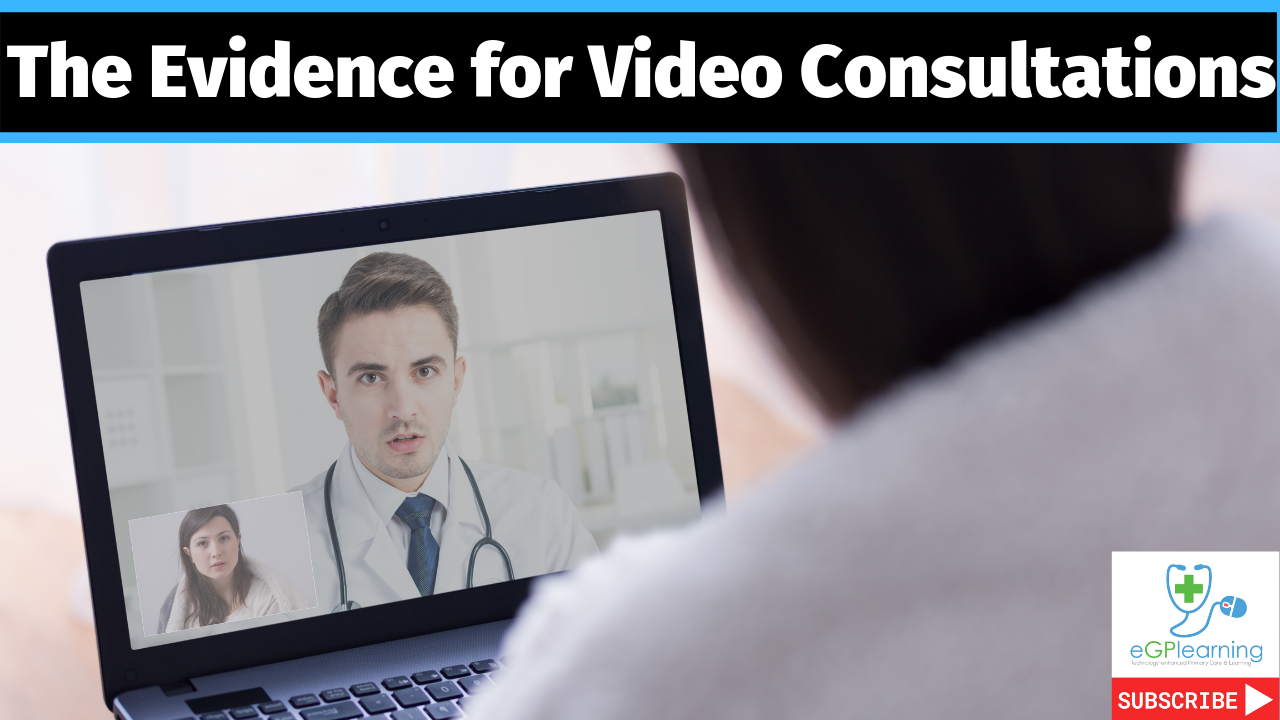 Evidence for video consultations in Primary care with Prof Helen Atherton