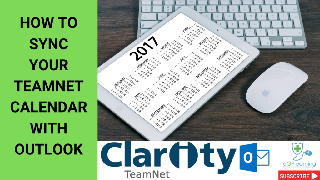 How to sync your Clarity TeamNet calendar with Outlook