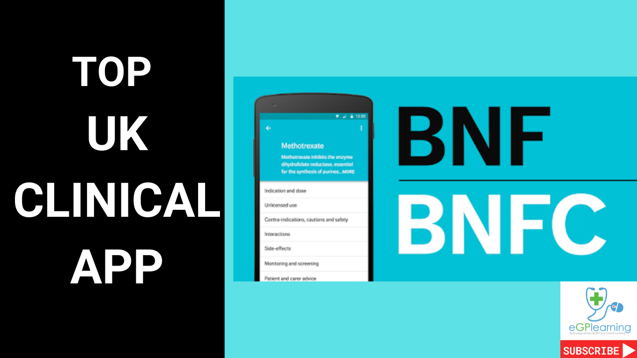 Top UK Clinical app- the BNF app