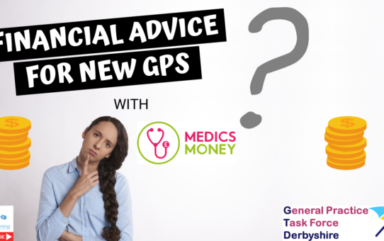 Financial advice for GPs and other doctors.