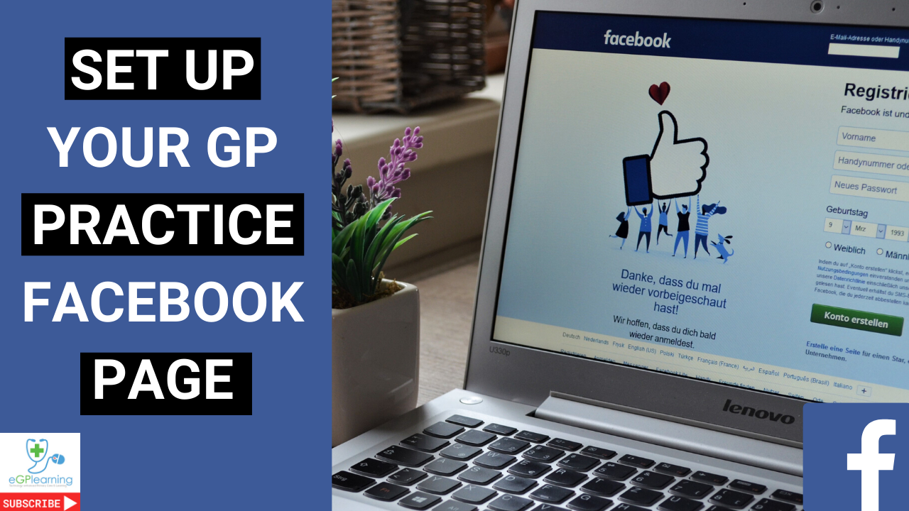 How to set up your GP practice Facebook page- a tutorial