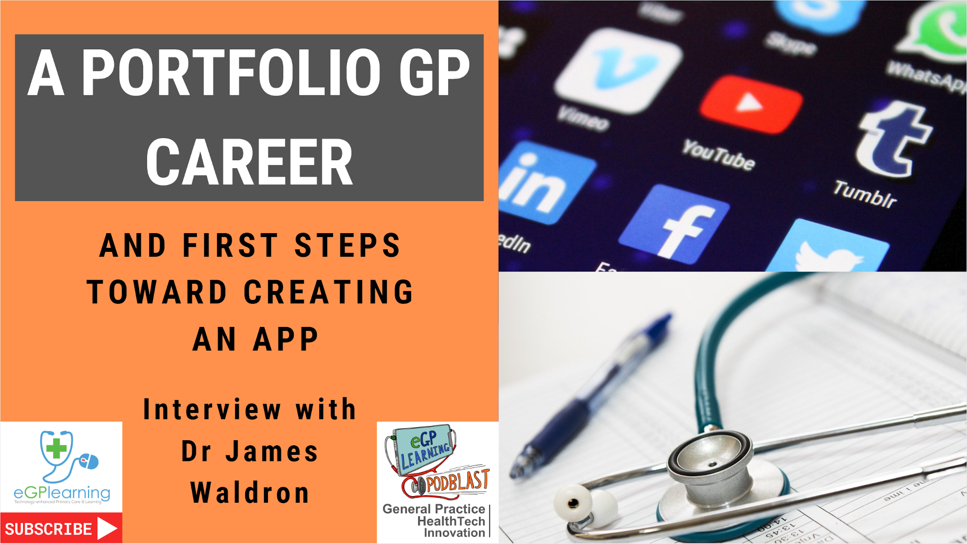 A portfolio GP Career with Dr James Waldron