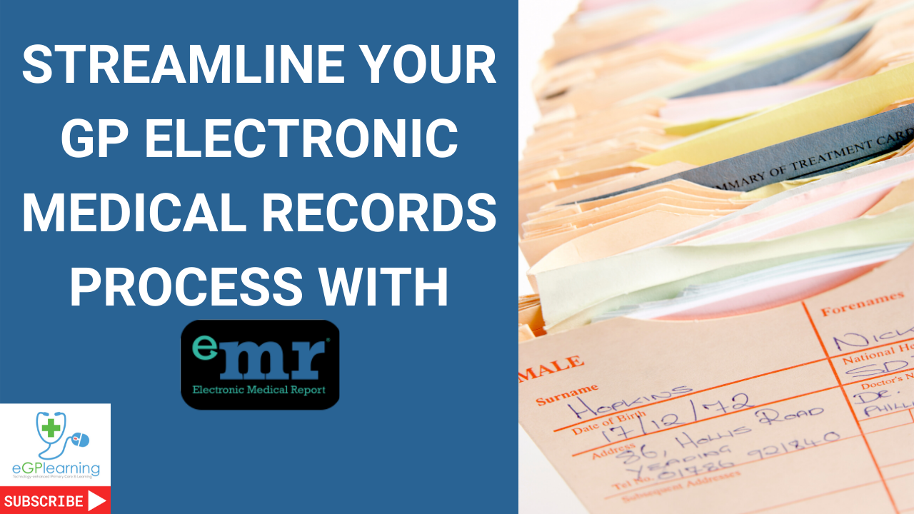 Streamline your GP electronic medical records process with eMR