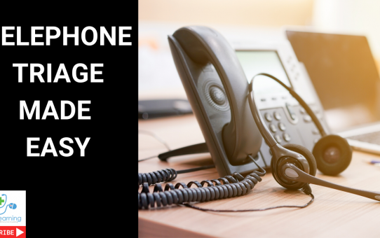 Telephone triage made easy