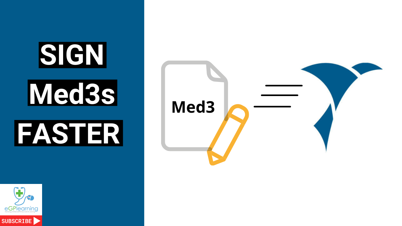 save a minute a patient signing med3s