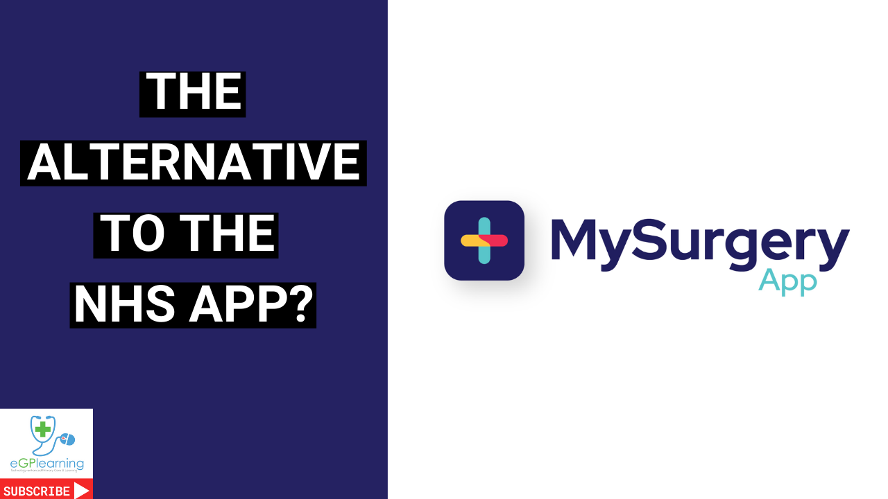 is MySurgery App the alternative to the NHS app?